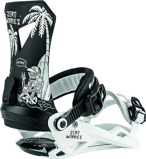 Nitro Snowboards Zero 20 All Mountain Freestyle M Attacco per snowboard da uomo
