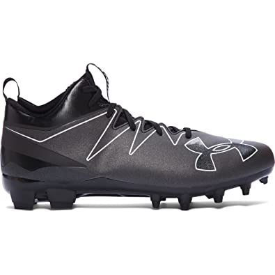 936bd44d4a7 Under Armour Men s UA Nitro Mid MC Black White Sneaker 10 D ...