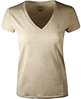 7f70ffd91c9146 Amazon.com: Polo Ralph Lauren Womens Perfect V Neck T-Shirt: Clothing