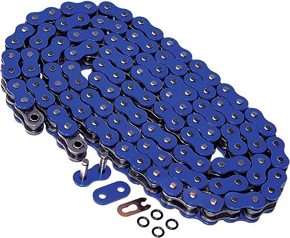 Blue Non O-Ring Chain /& Silver Sprocket 12//40 100L 04-2008 fits Yamaha YFZ450 YFZ 450