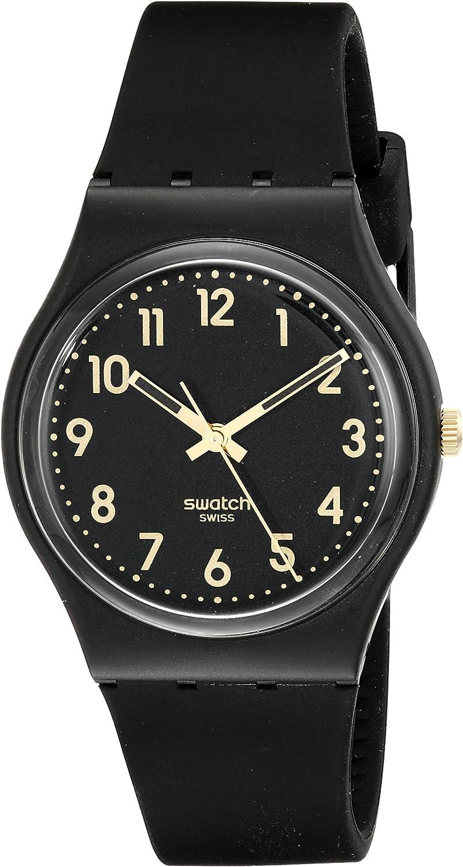 Swatch Gb274 - Reloj golden tac , color dorado
