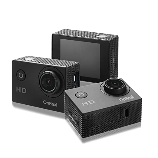 Amazon.com : OnReal Action Camera Underwater Camera with 1080P Video Resolution 12MP Photo Resolution 2 Inch Screen 150 Degree Wide-angle Lens : Camera & ...