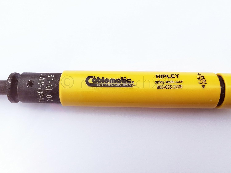 Cable eléctrico de llave dinamométrica para apriete coaxial F-connettore 11 mm: Amazon.es: Iluminación
