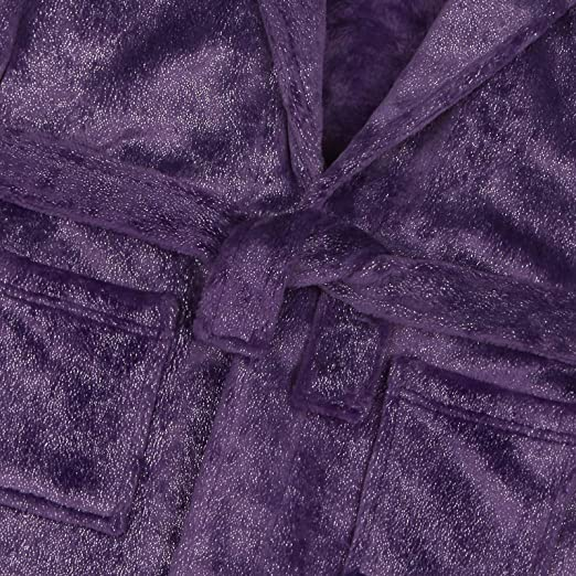 733fbf9c8d895 Minikidz Filles Paillette Argent à Capuche Peignoir Salon Manteau Violet  Rose Pastel: Amazon.fr: Vêtements et accessoires