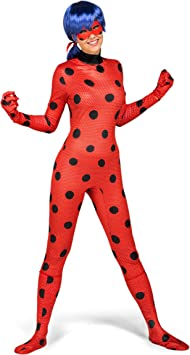My Other Me Me-231163 Miraculous Disfraz Ladybug Adulto, M-L ...