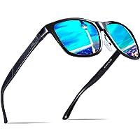 ATTCL Herren Polarisierte Fahren Sonnenbrille Al-Mg Metall Rahme Ultra Leicht