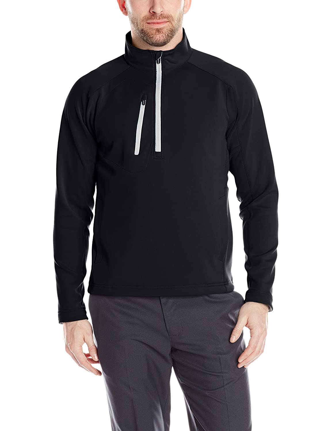 Amazon.com : Zero Restriction Men's Power Torque 1/4 Zip Rain ...