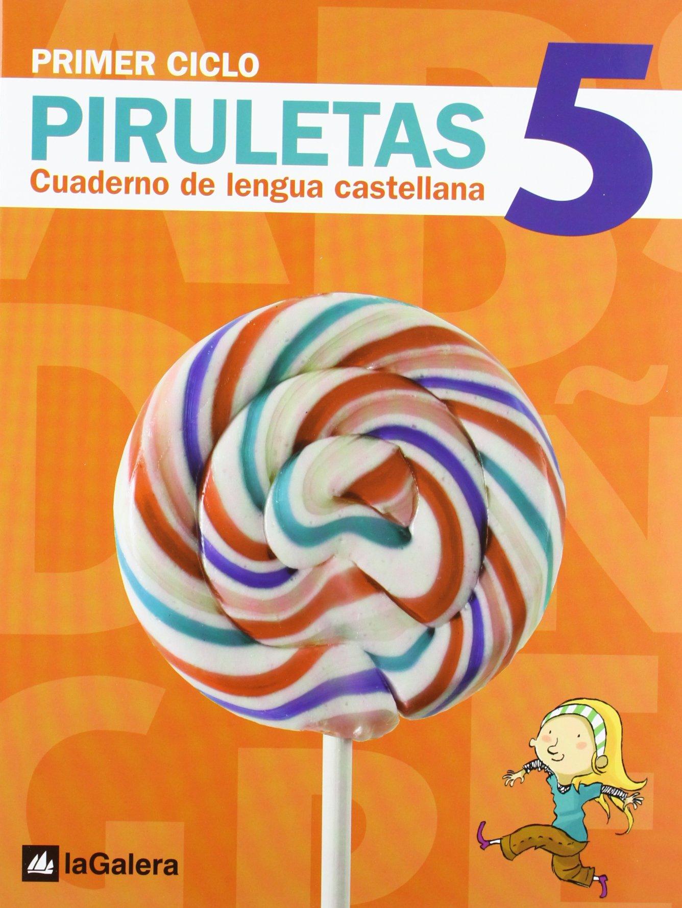 CUAD.LENGUA PIRULETAS 5.(2º.PRIMARIA) (Spanish) Paperback