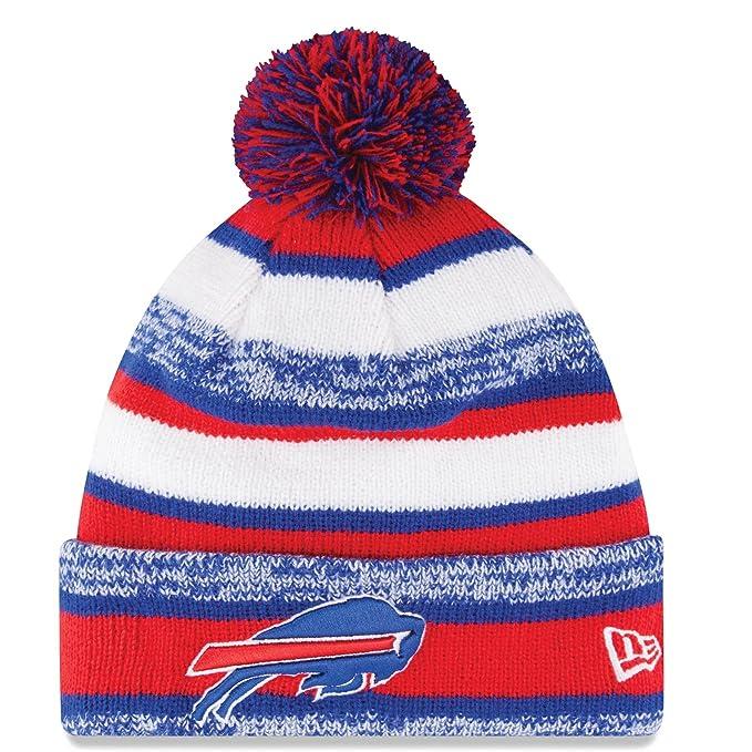 5482f11eeb643d Amazon.com : New Era On field Sport Knit Buffalo Bills Game Hat  Red/White/Blue Size One Size : Sports & Outdoors