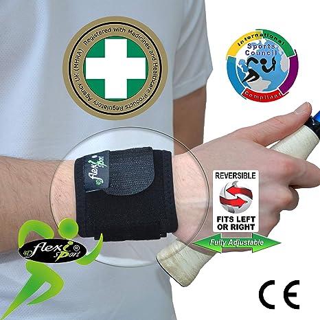 Muñequera para deporte...TEXTIL REVOLUCIONARIA SIN SUDOR …comodidad extrema! Fortalece y protege las muñecas durante los DEPORTES: golf, tenis, ...