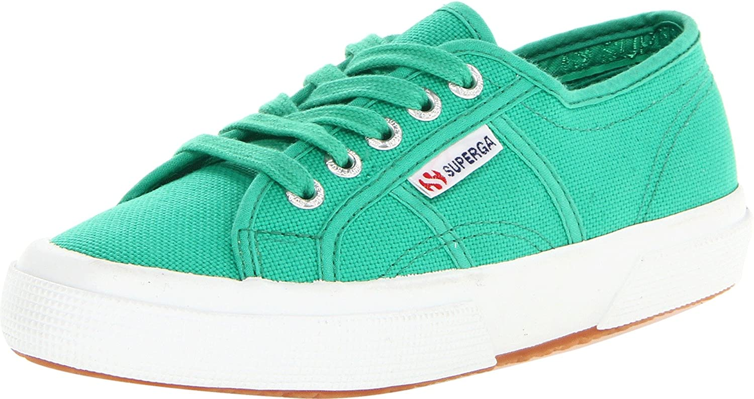 Superga 2750 Cotu Classic 2 B00CRFK4LQ 37.5 EU/7 Women's M US|Green Fabric