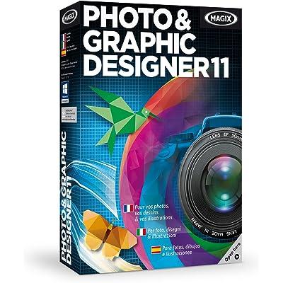 MAGIX PHoto & Graphic Designer 11 - Software De Diseño Gráfico Y Edición De Imagen