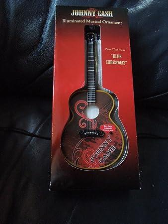 Amazon.com: Musical Iluminado Ornamento de Johnny Cash ...