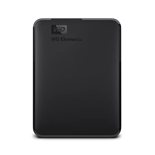 Western Digital Elements Disco duro externo portátil de 2 TB con USB 3 0 color negro