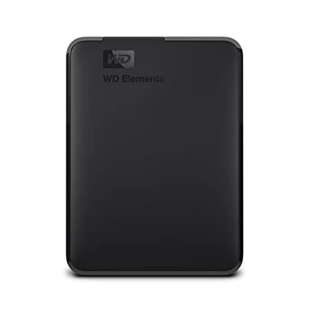 Western Digital WDBU6Y0040BBK-WESN 4TB Elements Tragbare Externe Festplatte schwarz