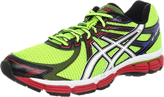 ASICS GT 2000 Trail, Herren Laufschuhe LimeWhiteRed