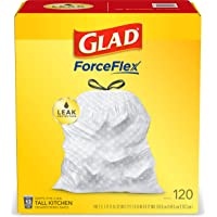 120-Count Glad Tall Kitchen Drawstring Trash Bags