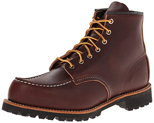 best red wing work boots roughneck
