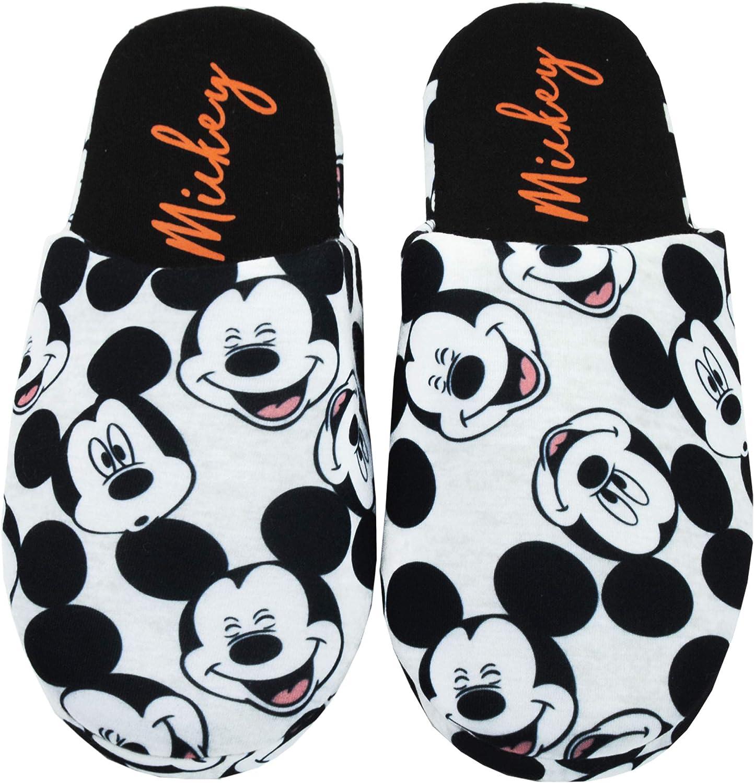 Disney Mickey Mouse por Todo la impresión Mujeres Resbalón-En Zapatillas