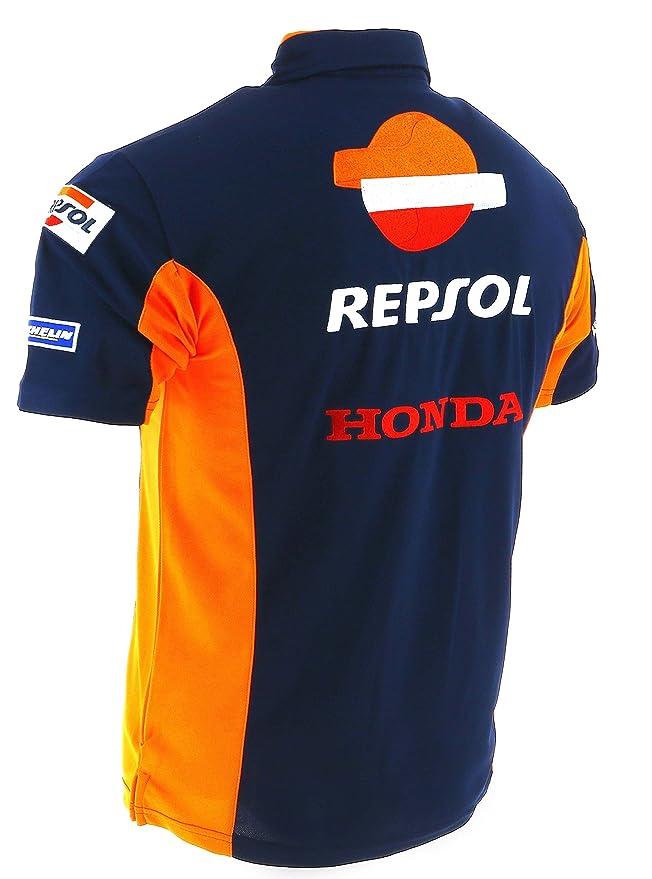 Honda Repsol Moto GP Team azul Marquez, Pedrosa Polo Camisa ...