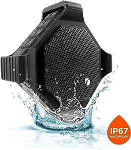 EcoDrift EcoXGear IP67 Waterproof/Shock Resistant LOUD Rugged Bluetooth Speaker - Black