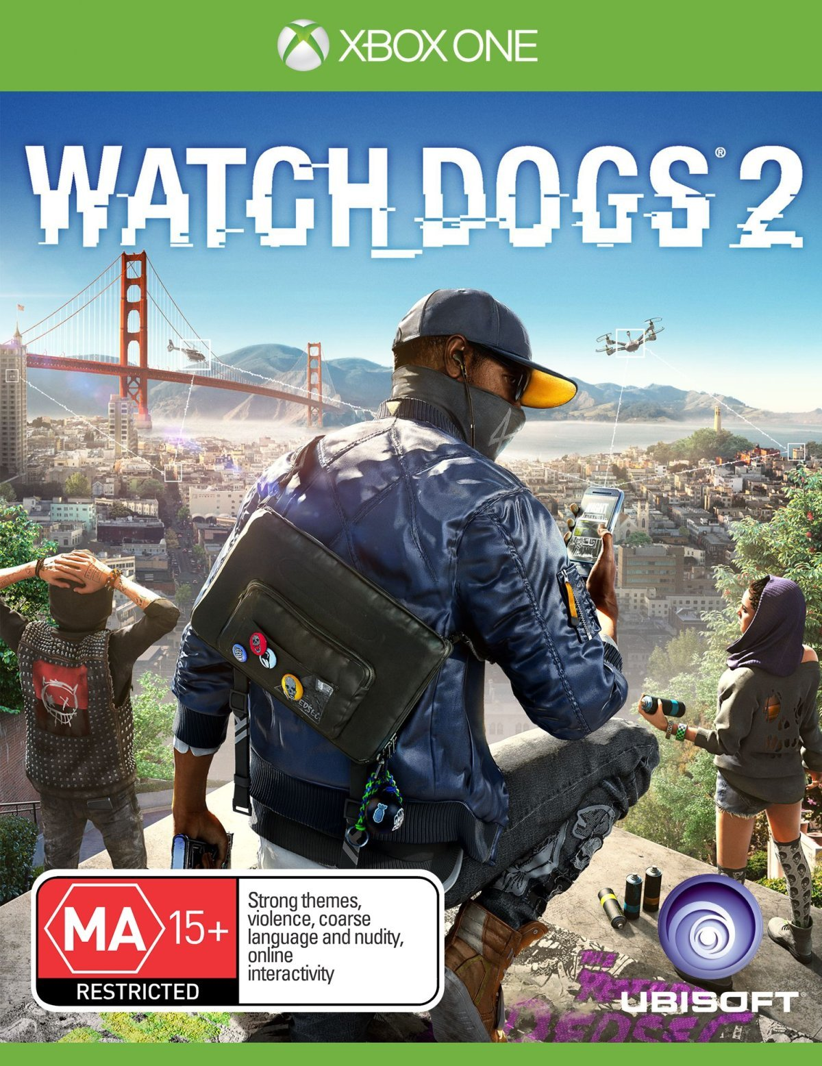 Amazon com: Watch Dogs 2 - Xbox One: Video Games