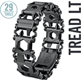 Leatherman - Tread LT Bracelet, The Smaller Travel Friendly Wearable Multitool, Black