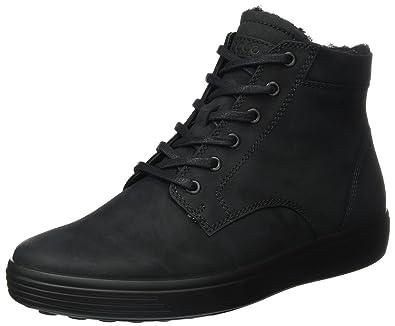 Ecco Soft 7 Men's, Sneakers Basses Homme, Noir (Black), 41 EU