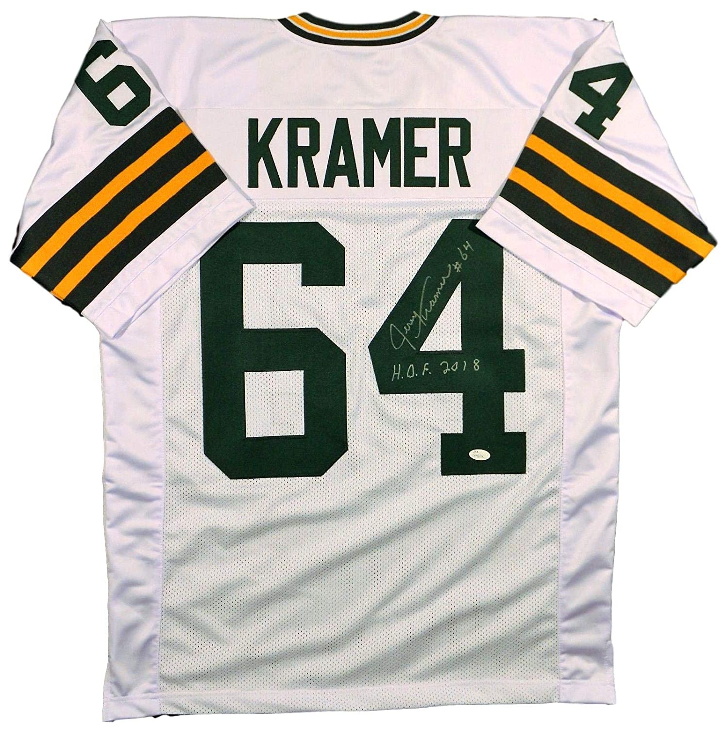 premium selection 6ca52 a97fd Jerry Kramer Packers Signed/Inscribed