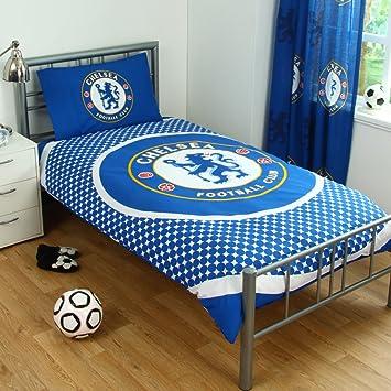Chelsea FC Single Duvet Set. Amazon com   Chelsea FC Single Duvet Set   Duvet Cover Sets