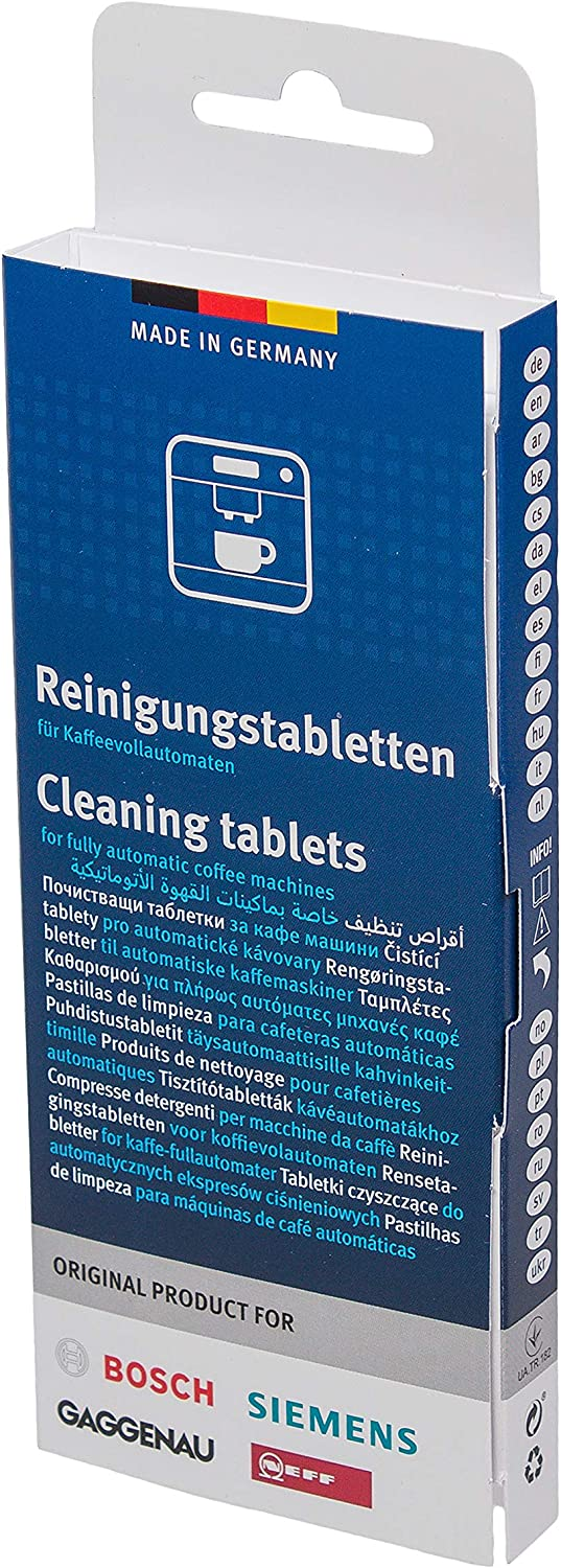 Amazon.com: Siemens Bosch Gaggenau Neff Cleaning Tablets ...