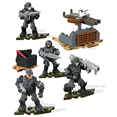 Mega Construx Halo Marines Fireteam Building Set: Toys & Games