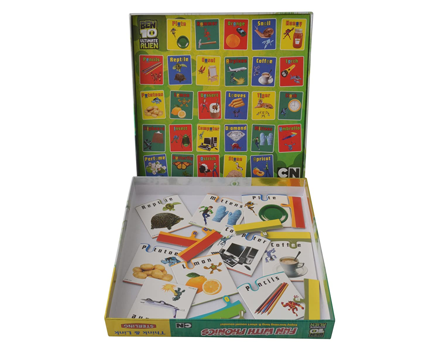 Sterling Fun with Phonics – Ben 10, Multi Color