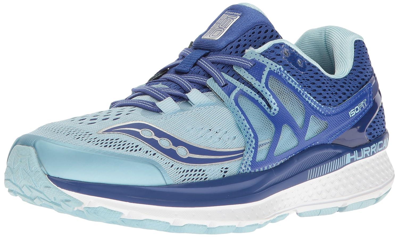 Saucony Women's Hurricane ISO 3 Running Shoe B01GIJRGH6 6.5 B(M) US|Blue/Light Blue