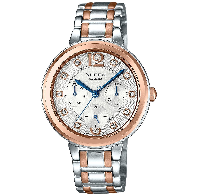 [カシオ]CASIO 腕時計 SHEEN SHE-3048BSJ-7AJF レディース B01M0X8357