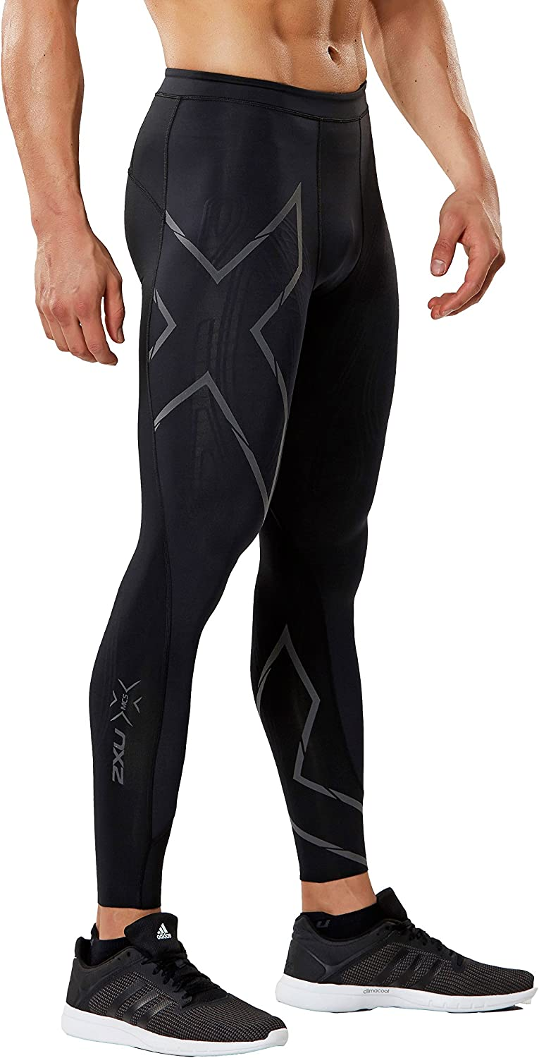 Image of 2XU Men's MCS Run Compression Tights ( Compression Pants & Tights