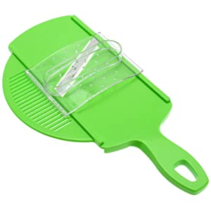 Suncraft Mandoline Slicer with Strainer and Guard