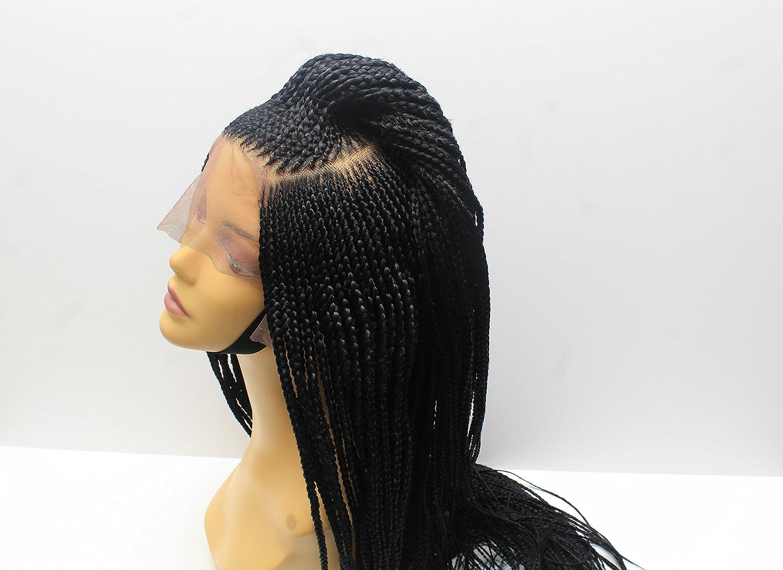 Cornrow Braided Wig For Black Women Lace Front Braided Wig Box Braid Wig