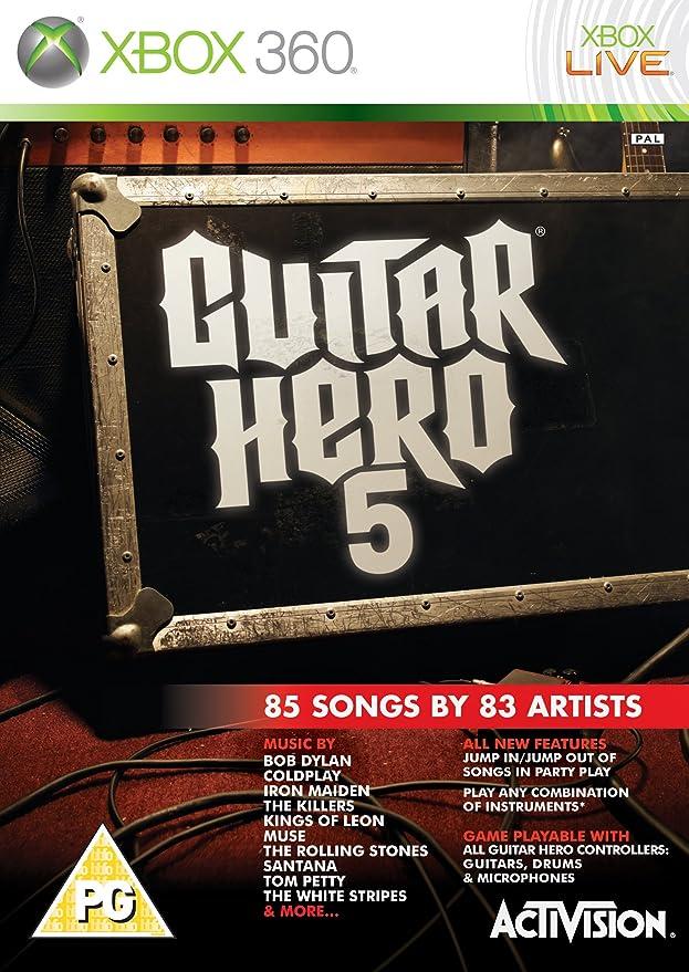 Guitar Hero 5 - Game Only (Xbox 360) [Importación inglesa]: Amazon ...
