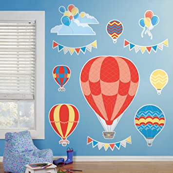 Hot Air Balloon Room Decor   Giant Wall Decals