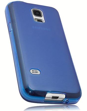 mumbi Schutzhülle Samsung Galaxy S5 mini Hülle blau