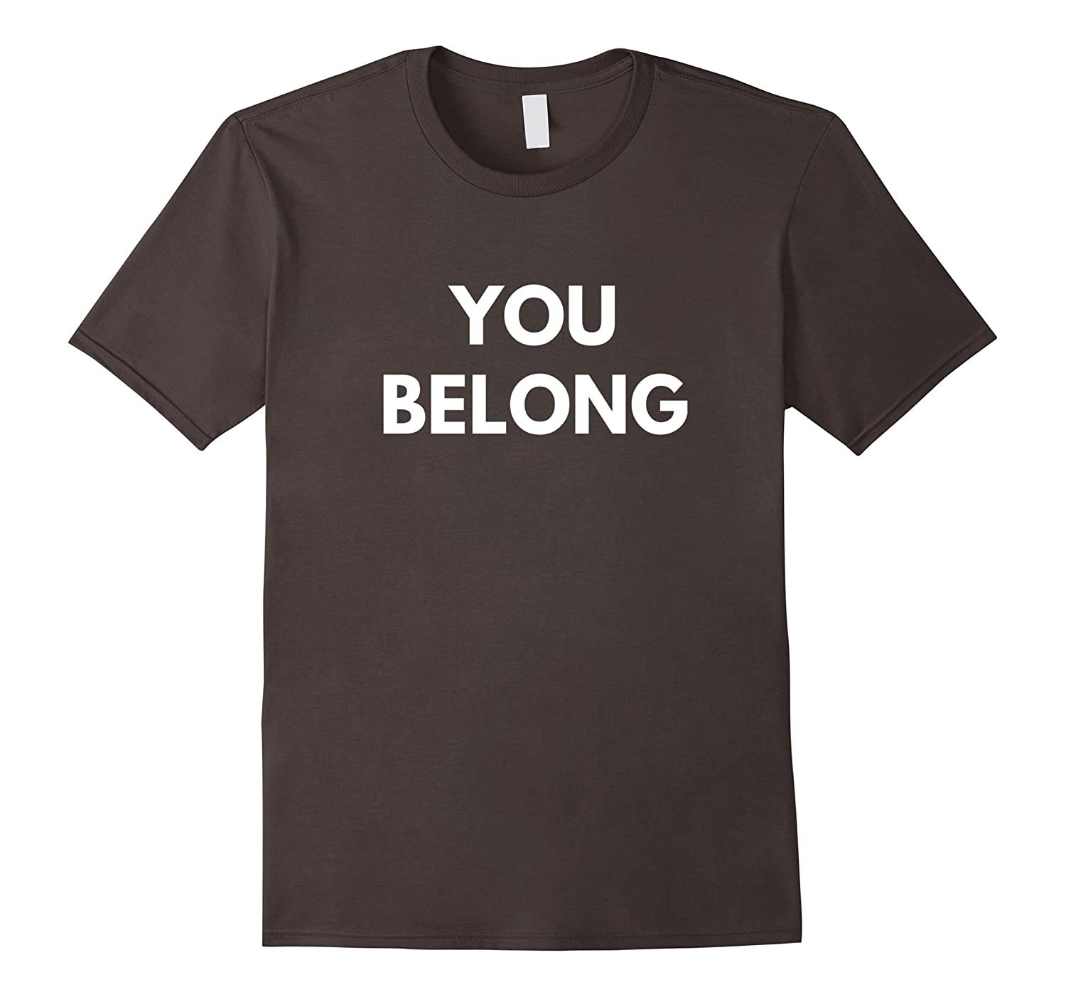 Design t shirt muslim -  You Belong T Shirt Support Muslim Americans Shirt Best Design T Shirt