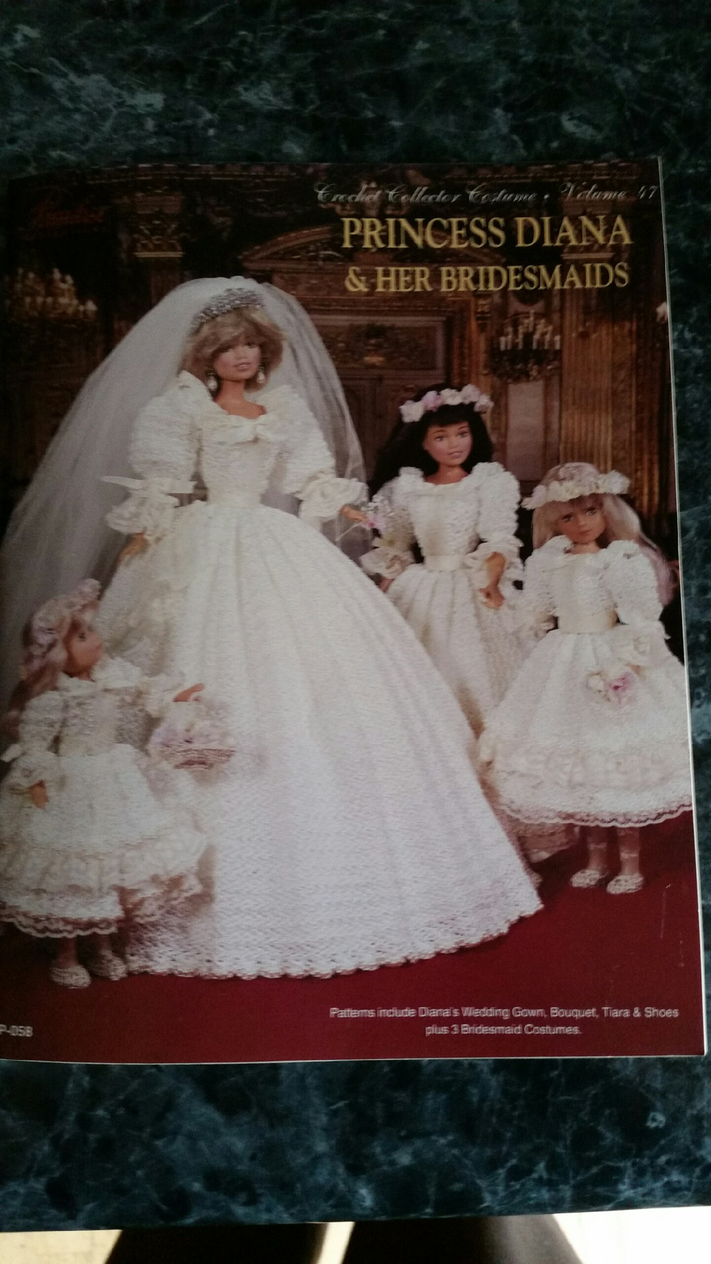 Princess Diana Her Bridesmaids Patterns Include Wedding Gown