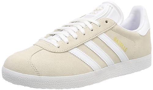 meet 2baa3 d054a adidas Men s Gazelle Fitness Shoes, White (Blanco 000), 5.5 UK