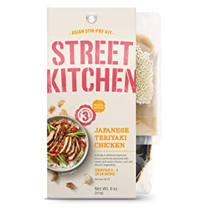 Passage Foods Street Kitchen Japanese Teriyaki Scratch Kit, All Natural, Non-GMO, 9 oz, Pack of 4