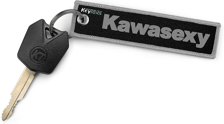 Premium Quality Key Tag for Kawasaki Kawasexy Keychains by KeyTails ATV Motorcycle UTV