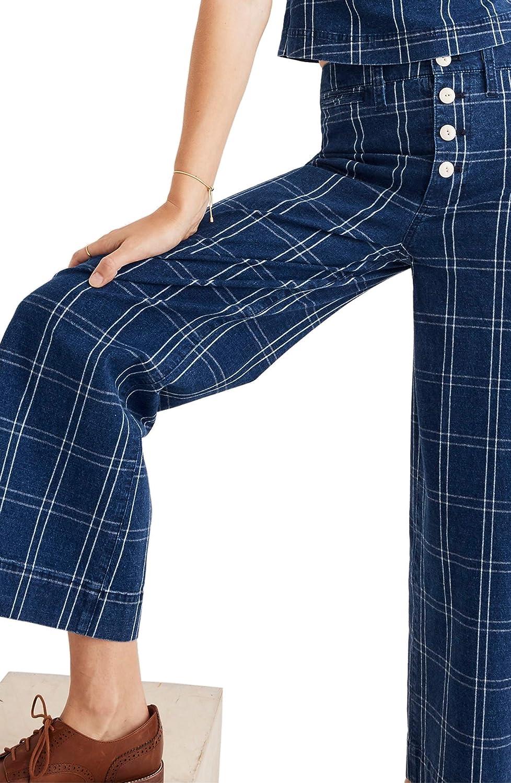 [メイドウェル] レディース カジュアルパンツ Madewell Emmett Wide Leg Crop Pants [並行輸入品] B07GW8FHZZ 32