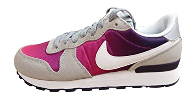 NIKE Girls' Internationalist (GS) Trainers Grey Size: 3.5