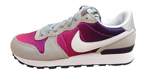 Nike Internationalist (GS), Zapatillas de Deporte para Niñas, Gris (Wolf Grey