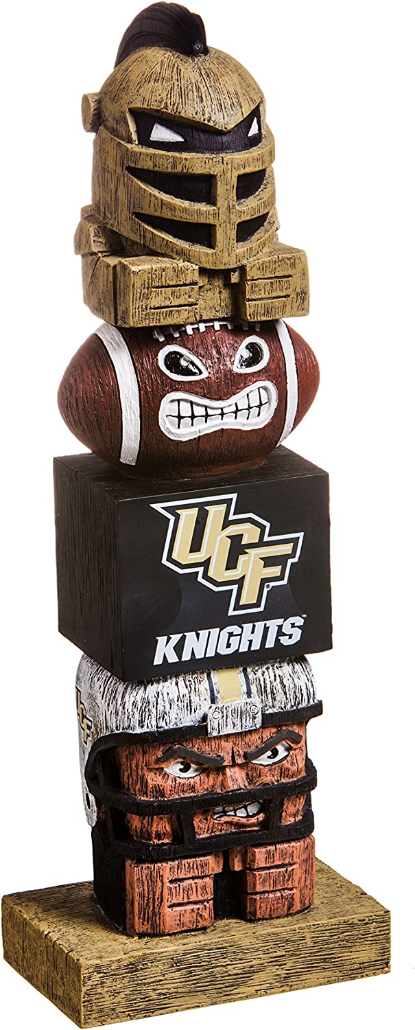 Evergreen NCAA Central Florida Golden Knights Tiki Totem, Team Colors, One Size